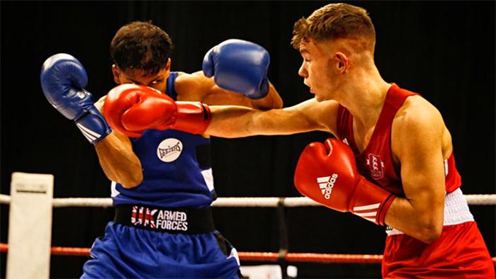 Боксеры на ринге