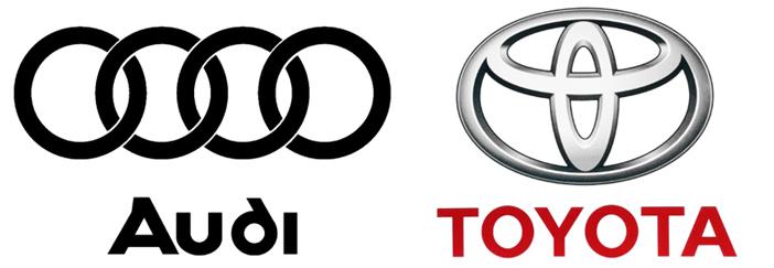 Ауди и Тойота