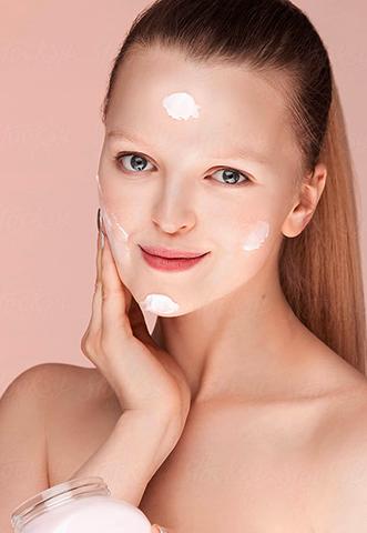 Использование крема для лица