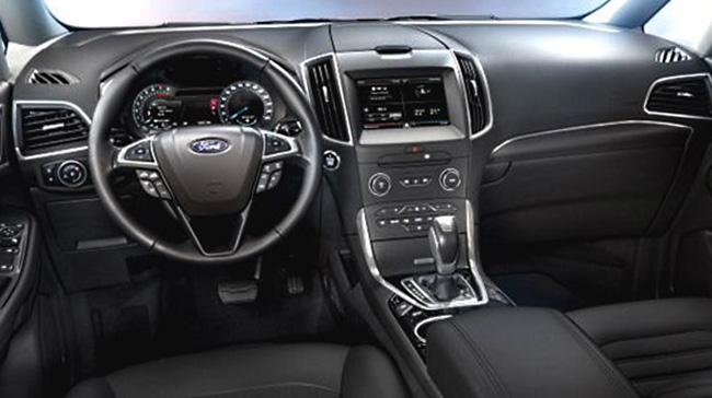 Салон Ford Galaxy