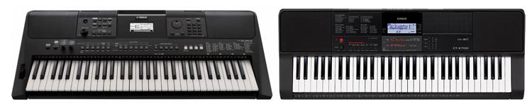 Yamaha и Casio