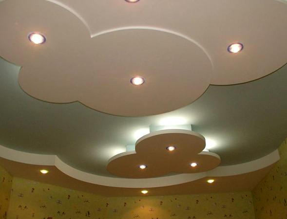 Современные навесные потолки