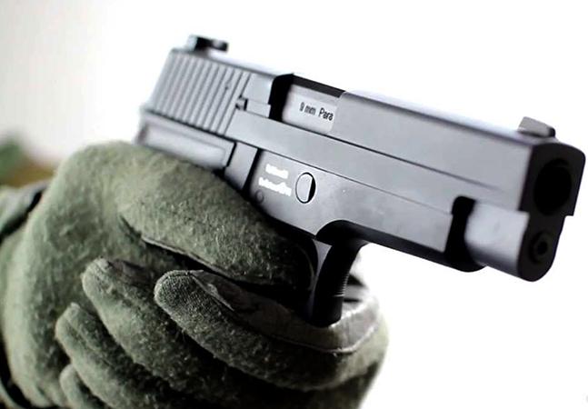 Стрельба из травматического пистолета