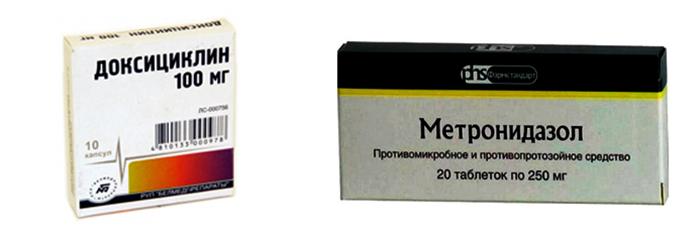 Доксициклин и Метронидазол