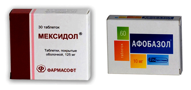 Мексидол или Афобазол