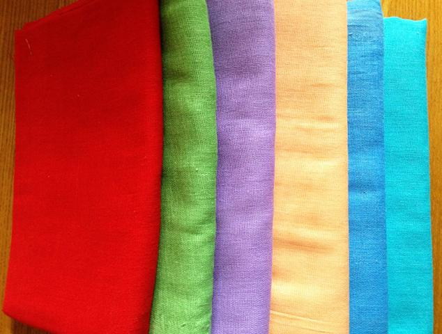 Разноцветная бязь