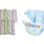 Что лучше для новорожденных пеленки или подгузники?