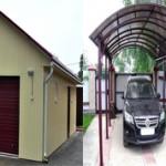 Что лучше для автомобиля гараж или навес?
