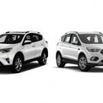 Toyota RAV4 или Ford Kuga: сравнение и какое авто лучше купить