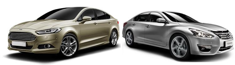 Ford Mondeo и Nissan Teana