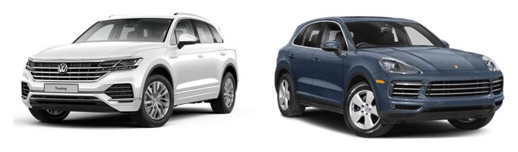 Volkswagen Touareg и Porsche Cayenne