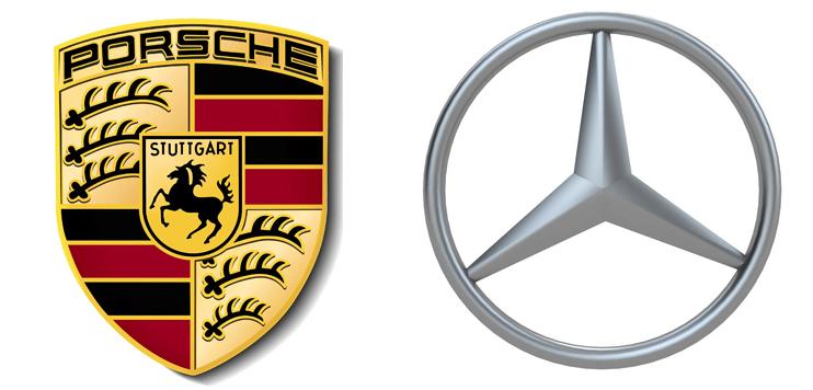 Porsche и Mercedes