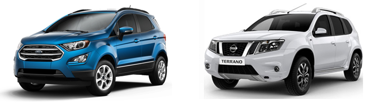 Ford EcoSport и Nissan Terrano