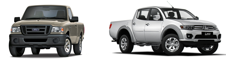 Ford Ranger и Mitsubishi L200