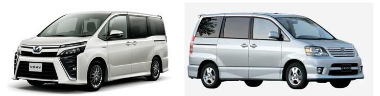 Toyota Voxy и Toyota Noah