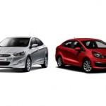 Hyundai Accent или Kia Rio — какой автомобиль взять?