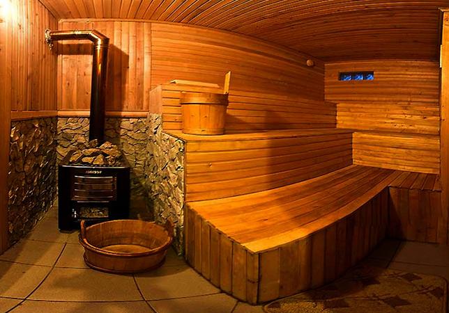 Баня в доме