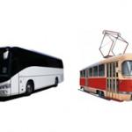В чем разница между автобусом и трамваем?