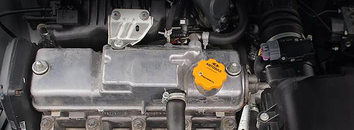 Двигатель 21116