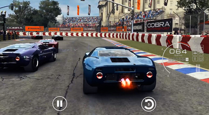 Игра в GRID Autosport