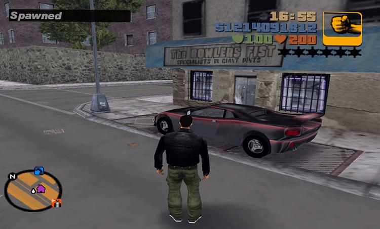 Игра в GTA 3