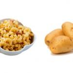 Что лучше, полезнее и вкуснее макароны или картошка?