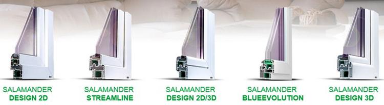 Окна от SALAMANDER