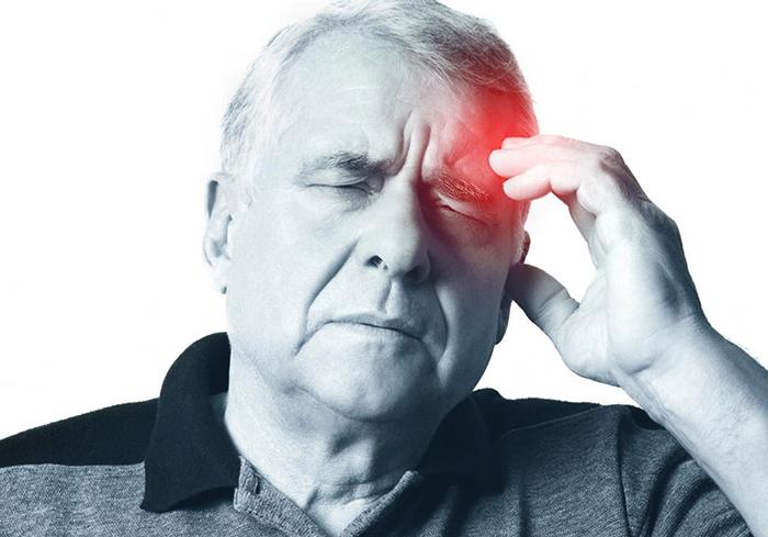 Симптом инсульта