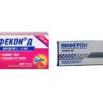 Цефекон или Виферон — что лучше и эффективнее?