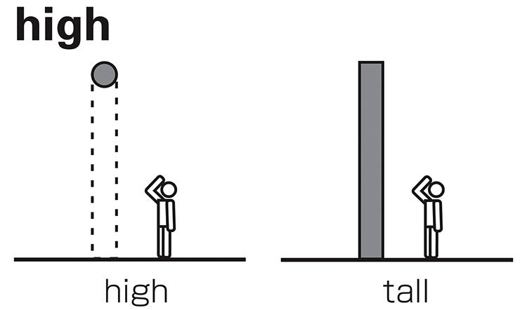 High и tall