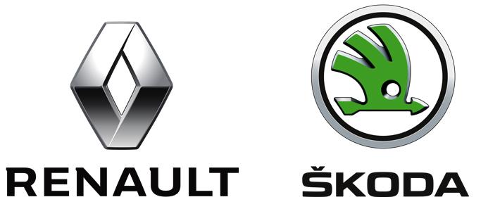 Renault и Skoda