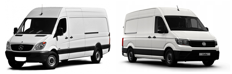 Mercedes-Benz Sprinter и Volkswagen Crafter