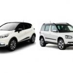 Renault Kaptur или Skoda Yeti: сравнение и какая машина лучше