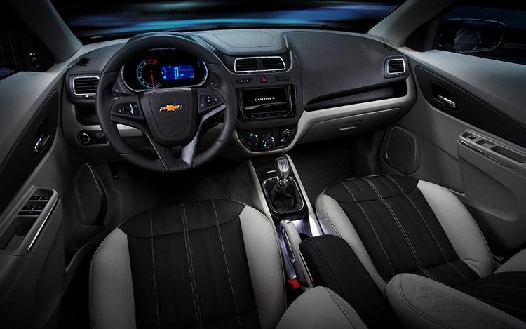 Интерьер Chevrolet Cobalt