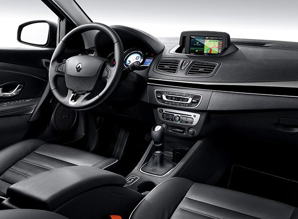 Интерьер Renault Fluence