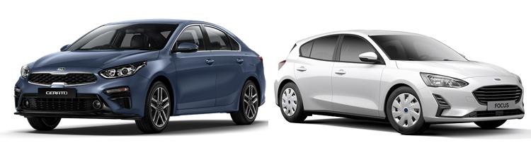 Kia Cerato и Ford Focus