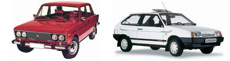 ВАЗ 2106 и ВАЗ 2108