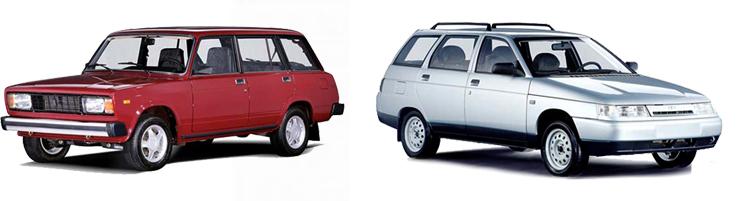 ВАЗ-2104 и ВАЗ-2111