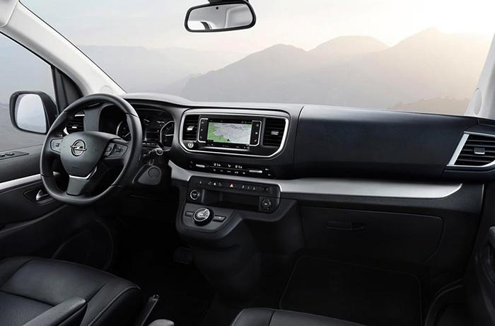 Салон Opel Zafira
