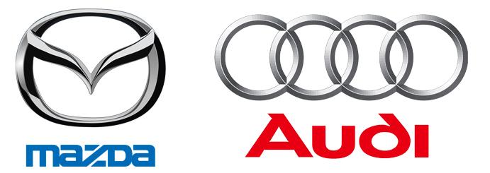 Mazda и Audi