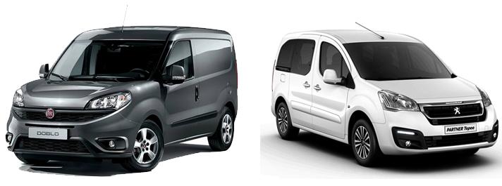 Fiat Doblo и Peugeot Partner