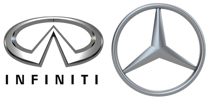 Infiniti и Mercedes