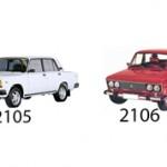 ВАЗ 2105 или ВАЗ 2106: сравнение и какая машина лучше