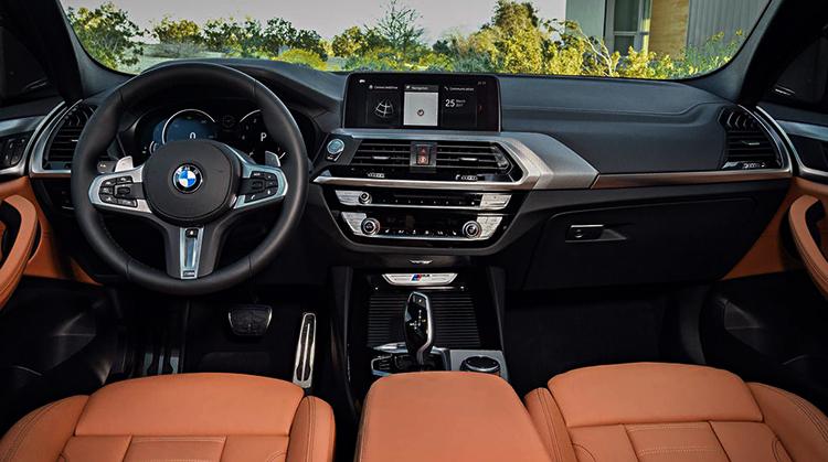 Интерьер BMW X3