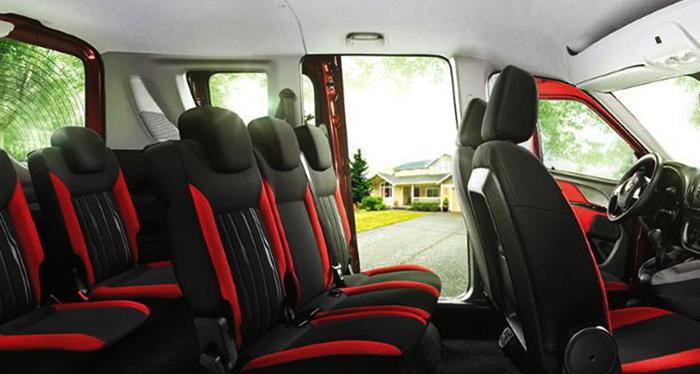 Салон Fiat Doblo