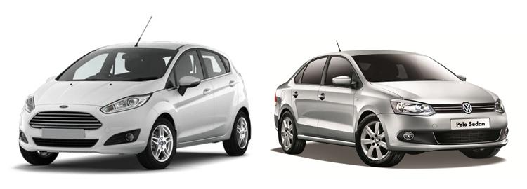 Ford Fiesta и Volkswagen Polo