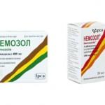 Таблетки или суспензия Немозол: сравнение форм выпуска и что лучше