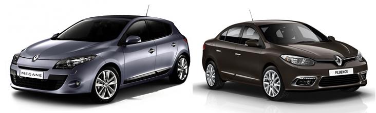 Renault Megane 3 и Renault Fluence
