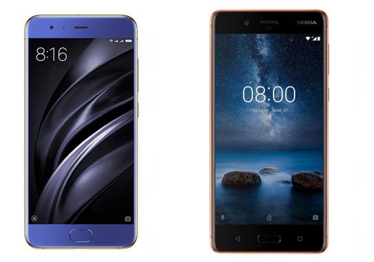 Xiaomi Mi6 или Nokia 8