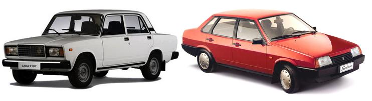 ВАЗ-2107 или ВАЗ-21099